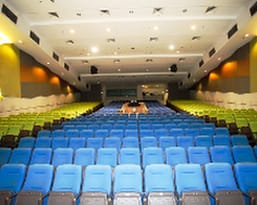 Nexus Auditorium. Auditorium in Cuppage Plaza. Seats up to 600 pax.