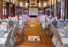 Sofitel Singapore Sentosa. Hotel ballrooms for private and corporate events including weddings and seminars.
