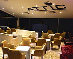 Attic Wine Lounge & Bistro. Nestled away from the beaten track in the Western part of Singapore, Attic Wine Lounge & Bistro is the perfect event venue for small groups and parties.