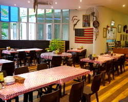 Buckaroo BBQ & Grill. For parties of between 50 - 120 pax. Conveniently located along Upp. Bt Timah Rd