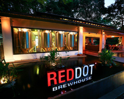 RedDot BrewHouse @ Dempsey Road. Venue for up to 300 pax for weddings & ROM