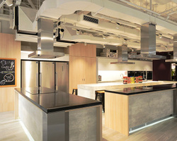 Tott @ Suntec Cooking Studio. Culinary studio for rent. Suitable for small groups up to 25 pax.